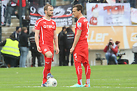 Erwin Hoffer und Michael Liendl (Fortuna) - FSV Frankfurt vs. Fortuna Düsseldorf, Frankfurter Volksbank Stadion