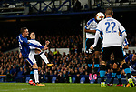 Gylfi Sigurdsson of Everton attempt on goal during the Europa League Group E match at Goodison Park Stadium, Liverpool. Picture date: September 28th 2017. Picture credit should read: Simon Bellis/Sportimage