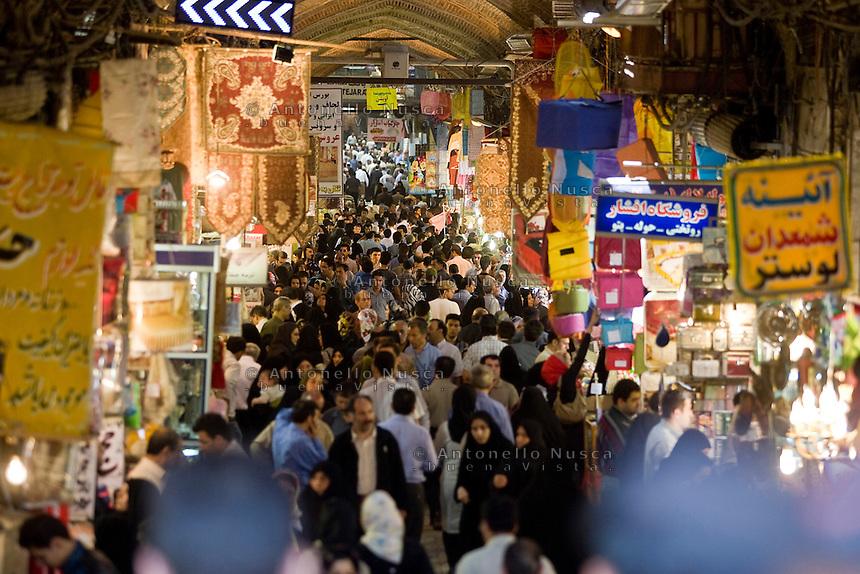Normal life at the Gran Bazaar  in Tehran, Iran May 6,  2007.