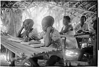 Campada college on the northern frontline, Guinea-Bissau - 1973