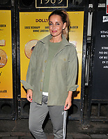 """JUN 15 Louise Redknapp at the """"9 To 5 The Musical"""" theatre cast stage door departures"""