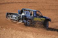 Apr 16, 2011; Surprise, AZ USA; LOORRS driver Matt Loiodice (20) during round 3 at Speedworld Off Road Park. Mandatory Credit: Mark J. Rebilas-.