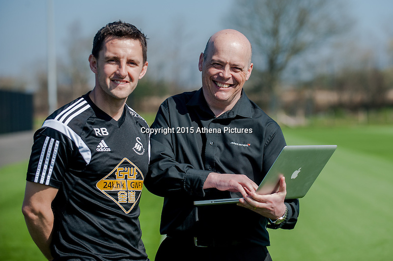SWANSEA, WALES - APRIL 7 :  Richard Buchanan RE: McClaren visit  on April 7, 2015 in Swansea, Wales. (Photo by Athena Pictures/Getty Images)