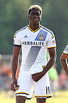24 June 2014: Los Angeles' Gyasi Zardes. The Carolina RailHawks of the North American Soccer League played the Los Angeles Galaxy of Major League Soccer at Koka Booth Stadium at WakeMed Soccer Park in Cary, North Carolina in the fifth round of the 2014 Lamar Hunt U.S. Open Cup soccer tournament. The RailHawks won the game 1-0 in overtime.