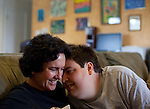 Ann Hart's son, John, is a 24-year-old man with autism. John shows affection by nudging his mother with his head for stimulation. Ann serves as the President of the Autism Society's Greater Austin Chapter....