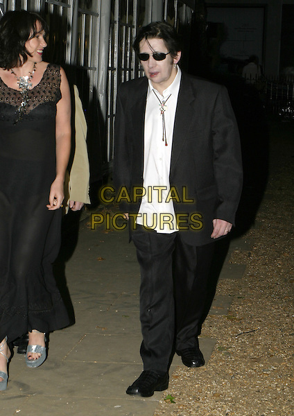 SHANE McGOWAN.At the Berkeley Square Ball, Berkeley Square, .London, July 19th 2005..full length mcgowen macgowen macgowan.Ref: AH.www.capitalpictures.com.sales@capitalpictures.com.©Adam Houghton/Capital Pictures.