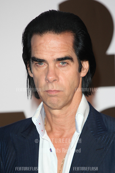 Nick Cave attending the '20,000 Days on Earth' Gala preview screening at Barbican Centre, London. 17/09/2014 Picture by: Alexandra Glen / Featureflash