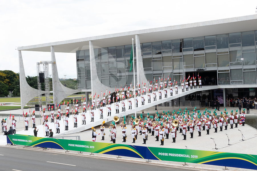 BRASILIA, DF, 01.01.2019 - BOLSONARO-POSSE-    Posse do presidente da República, Jair Bolsonaro,nesta terça-feira, 01. (Foto:Ed Ferreira / Brazil Photo Press)