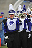 Nov 14, 2009; Manhattan, KS, USA; Members of the Kansas State Wildcats marching band perform before the game against the Missouri Tigers at Bill Snyder Family Stadium. The Tigers won 38-12. Mandatory Credit: Denny Medley-US PRESSWIRE
