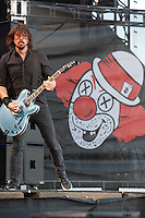 Foo Fighters at day two of the 2012 Bamboozle Festival in Asbury Park, New Jersey. May 19, 2012. © Joe Gall/MediaPunch Inc.