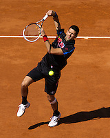 25-05-11, Tennis, France, Paris, Roland Garros,   Novak Djokovic