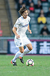 Auckland City Midfielder Albert Riera in action during the Nike Lunar New Year Cup 2017 match between SC Kitchee (HKG) and Auckland City FC (NZL) on January 31, 2017 in Hong Kong, Hong Kong. Photo by Marcio Rodrigo Machado / Power Sport Images
