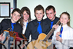 Michael O'Shea, Alice Bradley, Adam Grey, Ultan Lavery, Heather Grey and Adam Grey Keel who competed in Scor na nO?g in the Gleneagle Hotel Killarney on Sunday night    Copyright Kerry's Eye 2008