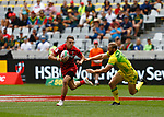 Tomi Lewis, Day 1 at Cape Town 7s for HSBC World Rugby Sevens Series 2018, Cape Town, South Africa - Photos Martin Seras Lima