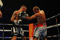 Lewis Ritson loses on points to Francesco Patera during a Boxing Show at the Metro Radio Arena on 13th October 2018