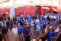 El Salvador fans after FIFA World Cup qualifier against El Salvador. USA tied El Salvador 2-2 at Estadio Cuscatlán Stadium in El Salvador on March 28, 2009.