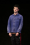 """Tom Sturridge during the Broadway Opening Night performance Curtain Call of """"Sea Wall / A Life"""" at the Hudson Theatre on August 08, 2019 in New York City."""