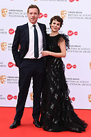 LONDON, UK. May 12, 2019: Damien Lewis & Helen McRory arriving for the BAFTA TV Awards 2019 at the Royal Festival Hall, London.<br /> Picture: Steve Vas/Featureflash