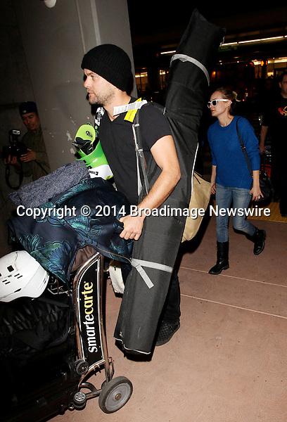 Pictured: Diane Kruger,  Joshua Jackson<br /> Mandatory Credit &copy; CALA/Broadimage<br /> Diane Kruger and husband Joshua Jackson arriving at the Los Angeles International Airport<br /> <br /> 1/21/14, Los Angeles, California, United States of America<br /> <br /> Broadimage Newswire<br /> Los Angeles 1+  (310) 301-1027<br /> New York      1+  (646) 827-9134<br /> sales@broadimage.com<br /> http://www.broadimage.com