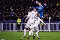 Cristiano Ronaldo of Juventus <br /> Lyon 26/02/2020 OL Stadium Decines <br /> Football Champions League 2019//2020 <br /> Round of 16 1st Leg <br /> Olympique Lionnais Lyon - Juventus <br /> Photo Federico Tardito / Insidefoto