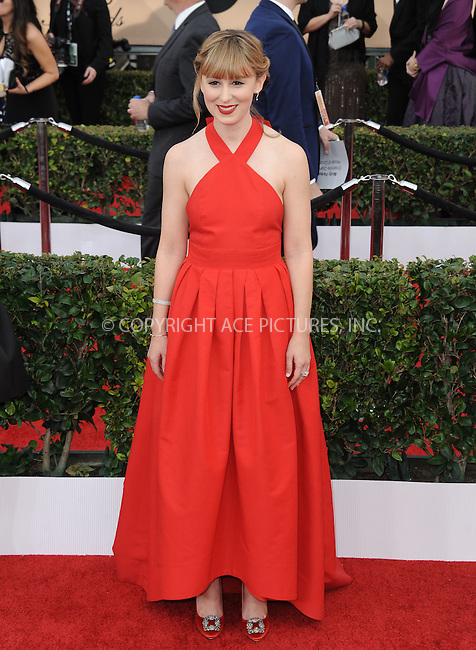 WWW.ACEPIXS.COM<br /> <br /> January 30 2016, LA<br /> <br /> Stephanie Drake arriving at the 22nd Annual Screen Actors Guild Awards at the Shrine Auditorium on January 30, 2016 in Los Angeles, California<br /> <br /> By Line: Peter West/ACE Pictures<br /> <br /> <br /> ACE Pictures, Inc.<br /> tel: 646 769 0430<br /> Email: info@acepixs.com<br /> www.acepixs.com