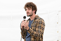 14th July 2019: Comedian Josh Pugh performs his show 'Maybe the Real Comedy Awards are the Friends We Made Along the Way ' on day 2 of the 2019 Comedy Crate Festival, Northampton.