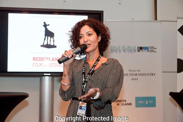 Holland Film Meeting/Dutch Industry Days Holland Meets Turkey panel. Foto: Nichon Glerum.Gulin Ustun
