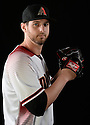 Arizona Diamondbacks Keith Hessler (56) during photo day on February 28, 2016 in Scottsdale, AZ.