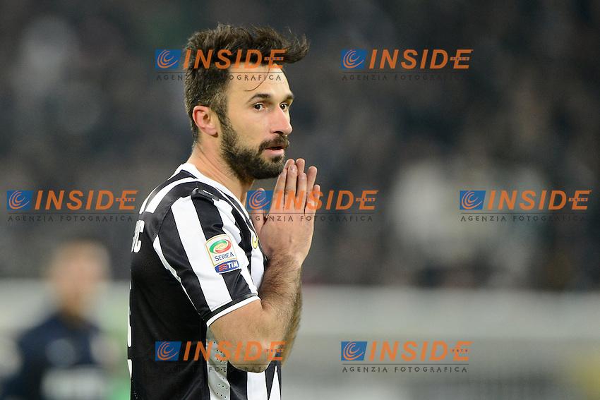 Mirko Vucinic Juventus<br /> Torino 02-02-2014 Juventus Stadium - Football 2013/2014 Serie A. Juventus - Inter Foto Giuseppe Celeste / Insidefoto