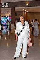 """SÃO PAULO, SP, 14.12.2018 - SHOW - SP - A cantora Fafá de Belém prestigia show """"Ofertório"""" de Caetano Veloso e filhos no Credicard Hall em São Paulo, nesta sexta-feira, 14. (Foto: Bruna Grassi/Brazil Photo Press)"""