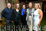 Family members of Siobhain Maher Sequeval at the 'Bands For Bubbles' in aid ofSiobhain in Benners Hotel on FridayL to r: William Maher, Ciara, Denise and Shannon Hanbidge and Ruth Maher.
