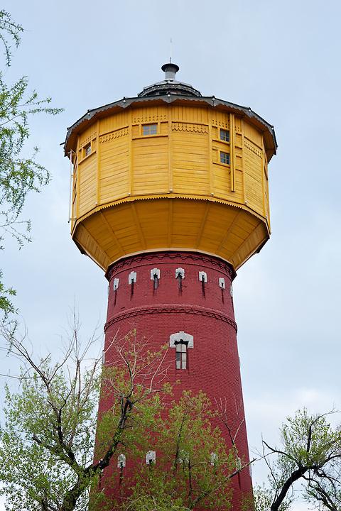 Railway Water Tower, Ha'erbin.
