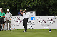 Christofer Blomstrand (SWE) on the 10th tee during Round 1 of the Bridgestone Challenge 2017 at the Luton Hoo Hotel Golf &amp; Spa, Luton, Bedfordshire, England. 07/09/2017<br /> Picture: Golffile | Thos Caffrey<br /> <br /> <br /> All photo usage must carry mandatory copyright credit     (&copy; Golffile | Thos Caffrey)