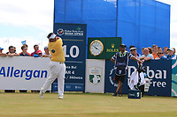 Kiradech Aphibarnrat (THA) on the 10th during Round 2 of the Dubai Duty Free Irish Open at Ballyliffin Golf Club, Donegal on Friday 6th July 2018.<br /> Picture:  Thos Caffrey / Golffile