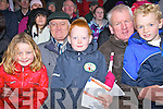 At the Munster Junior Semi-Final in Waterville on Sunday last were l-r; Fiona O'Shea, Brendan Galvin, David O'Neill, Paudie & Fergal O'Shea.