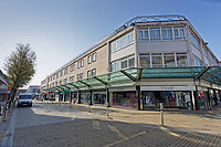 Pictured: Oxford Street in the deserted Swansea city centre, Wales, UK. Tuesday 24 March 2020<br /> Re: Covid-19 Coronavirus pandemic, UK.