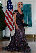 Senior Counselor Kellyanne Conway arrives for the State Dinner hosted by United States President Donald J. Trump and First lady Melania Trump in honor of Prime Minister Scott Morrison of Australia and his wife, Jenny Morrison, at the White House in Washington, DC on Friday, September 20, 2019.<br /> Credit: Ron Sachs / Pool via CNP