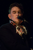 Patrick Wolf (born Patrick Denis Apps) - performing live at  an intimate acoustic show at Queen Elizabeth Hall in London UK -  06 April 2013.  Photo credit: Justin Ng/Music Pics Ltd/IconicPix