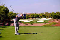 Jason Scrivener (AUS) on the 4th tee during the 2nd round of the DP World Tour Championship, Jumeirah Golf Estates, Dubai, United Arab Emirates. 22/11/2019<br /> Picture: Golffile | Fran Caffrey<br /> <br /> <br /> All photo usage must carry mandatory copyright credit (© Golffile | Fran Caffrey)