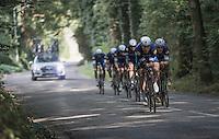 Tony Martin (DEU/Etixx-QuickStep) leading his teammates <br /> <br /> 12th Eneco Tour 2016 (UCI World Tour)<br /> stage 5 (TTT) Sittard-Sittard (20.9km) / The Netherlands