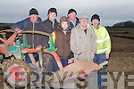 REPAIRS: helping out at the Bllyheigue ploughing competition on Sunday in Ballyheigue, L-r: Micheál Burke (jnr), James O'Driscol;l, Michael Burke (snr), Richard and Christy O'Mahony.