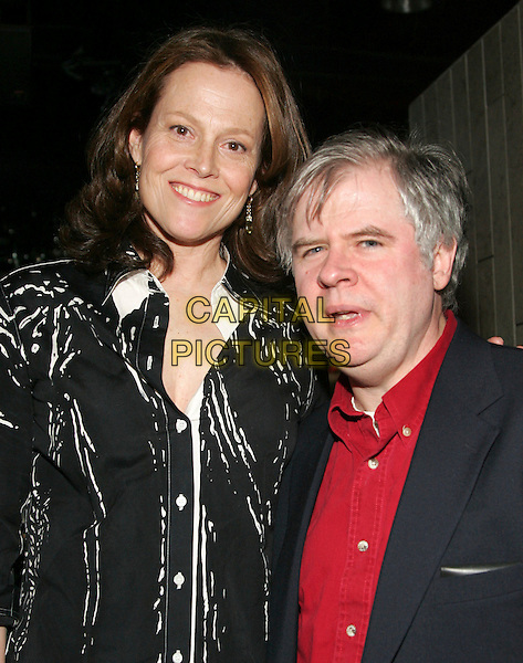 "SIGOURNEY WEAVER & OSKAR EUSTIS.At the 2nd annual ""Battle of the Bards"" at Crobar, New York, NY, USA..March 3rd, 2006.Photo: Jackson Lee/Admedia/Capital Pictures.Ref: JL/ADM.headshot portrait.www.capitalpictures.com.sales@capitalpictures.com.© Capital Pictures."