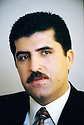 Irak 2000.Nechirvan Barzani, premier ministre du KDP.        Iraq 2000. Nechirvan Barzani, prime minister of KDP