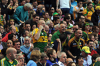 Kerry fans celebrate in the All-Ireland Football Final  in Croke Park 2014.<br /> Photo: Don MacMonagle<br /> <br /> <br /> Photo: Don MacMonagle <br /> e: info@macmonagle.com