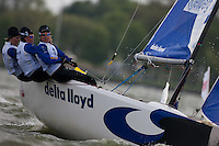 Medemblik - the Netherlands, May 26th 2010. Delta Lloyd Regatta in Medemblik (26/30 May 2010). Day 1.