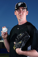 March 1, 2010:  Pitcher Scott Richmond (48) of the Toronto Blue Jays poses for a photo during media day at Englebert Complex in Dunedin, FL.  Photo By Mike Janes/Four Seam Images