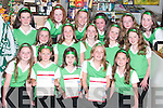 CHOIR: Rathmore/Gneeveguilla choir who were beaten by a couple of points in the Munster Finals of The Community Games Variety show in Listowel on Saturday. In the picture with Joanne Hughes and her daughter, Muireann, are: Marcella OConnell, Lisa Breen, Clodagh Nagle, Lorna O Connor, Ciara OConnor, Mairead OSullivan, Fiona Dineen, Aoife Hassett, Grace Nagle, Sinead OConnell, Julie McCarthy, Louise Hassett, Fiona O ODonoghue, Katie Cremin, Katherina McCarthy, Kate Sheehan, Eimear McCarthy..