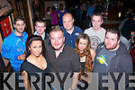 It's MY party Chris Campbell,St Brendan's Pk,Tralee(front 2nd from Lt)celebrated his 28th birthday last Friday night in the Blasket,Tralee,with friends,Aisling O'Sullivan,Sarah Scanlon,Dan O'Sullivan,Junior Abdulsalm,Sean Campbell,David Akinyemi and David Grady..