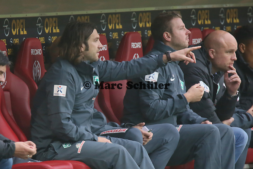 Co-Trainer Thorsten Frings (Werder) - 1. FSV Mainz 05 vs. SV Werder Bremenl, Coface Arena
