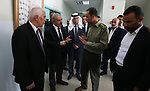 Palestinian Prime Minister Mohammad Ishtayeh, tours in the West Bank city of Bethlehem on September 17, 2019. Photo by Prime Minister Office